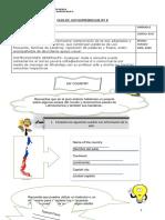 Guía de trabajo de Inglés PIE para Octavo Básico