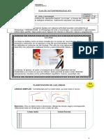 Guía de trabajo domiciliario de Artes Visuales