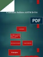 Contenido Sulfatos ASTM D-516.pptx