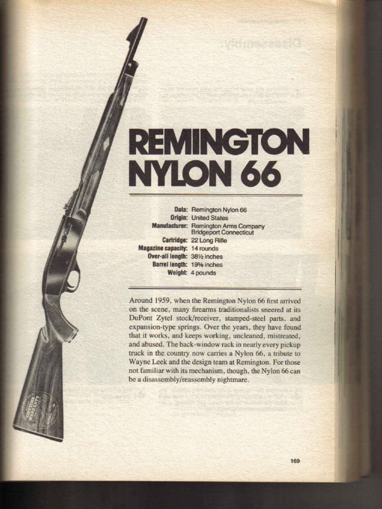 datând un remington nylon 66)