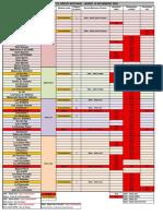 Tableau Récapitulatif GREVE 10 NOVEMBRE 2020 - 12h JBG