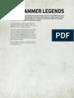Forge World Warhammer 40k Legends