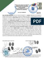ACTA DE NACIMIENTO YARETT
