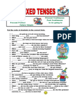 mixed tenses with present perfect.doc
