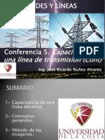 Conf 5. Capacitancia de una línea eléctrica (Cont)
