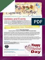 Carisma Designs Newsletter-February 2011