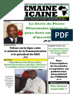 semaine africaine n°3974