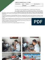 INFORME DE ACTIVIDADES MARZO