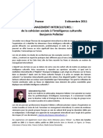 management interculturel benjamin pelletier
