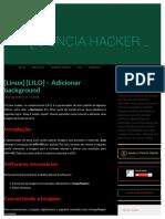 [Linux] [LILO] - Adicionar background.pdf