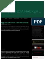 Bypass anti-vírus com msfencode