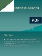 CAD vs Mechanical Drawing , cad cam