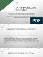 CONSTITUCIONAL ART 16