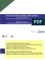 ACTUALIZACION EN LEGISLACION