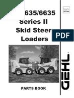 SL5635 & SL6635 Series II Parts Manual