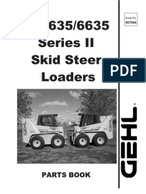 gehl skid steer serial number lookup