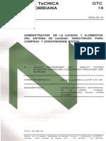 GTC14 comprasyaprovisionamientos