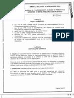 MANUAL DE PROCEDIMIENTO EN CASO DE PERDIDA DE BIENES
