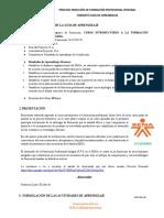 Guia de aprendizaje No 1 Inducción - APRENDICES 2020
