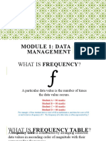 2_Module 1_Descriptive Statistics_Frequency Tables, Measure of Central Tendency & Measures of Dispersion (1).pptx