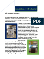 letter of intro