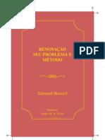 [artigo] Renovação seu problema e método - Edmund Husserl (2008)