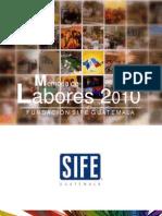 Memoria de Labores SIFE 2010