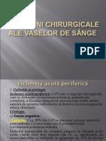 Curs 12 Semiologia chirurgicala a arterelor