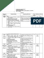 PLANIFICARE CALENDARISTICA CLASA A VIII-A