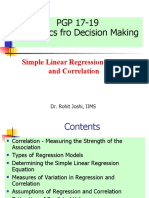Session 15 Regression and correlation.pptx