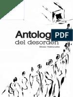 Antologia del desorden