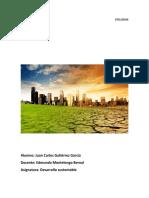 Cambio climático global causas y consecuencias