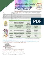 TALLER  SECUENCIA PRODUCTIVA 03 TRANSFERENCIA DE COLOR CON PAPEL Y USO DE CORRECTOR LÍQUIDO LIQUID PAPER