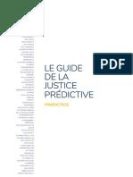 Guide de la Justice Prédictive