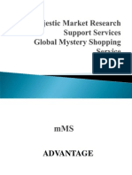 MMRSS Mystery Shopping