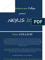 Nexus 2011 Sponsorship Proposal - Sri Venkateswara College
