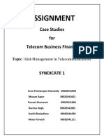 Risk Management in Telecommunications