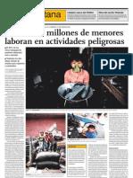 Niños trabajadores El Comercio