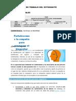 FICHA DE TRABAJO 5° TUTORIA - EMPATIA