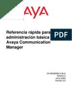 Administracion basica Avaya Communication Manager