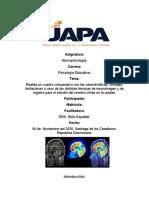 TAREA IV DE NEUROPSICOLOGIA