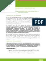 Créditos de Posgrado en Revisoría Fiscal y Auditoria Forense  .pdf