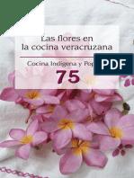 Las flores en la cocina veracruzana