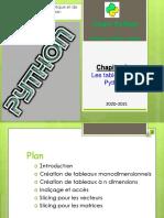 Chapitre 2 array in python.pdf