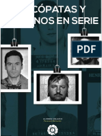 Psicopatas y Asesinos  - Criminologia - Profiling