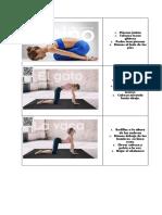 Fichas Yoga