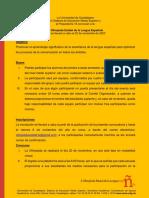 x Olimpiada Esrtatal Lengua Espanola 2020