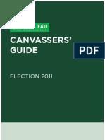 Fianna Fáil Canvassers Guide
