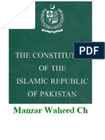 The Constitution Of Pakistan 1973 Part 01