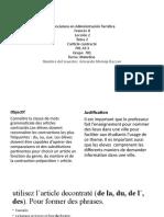 Leccion 2- Francés II- 701 at- 3